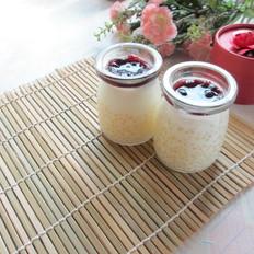 如何炒小白菜好吃蓝莓西米布丁的做法