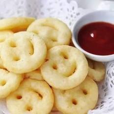 土豆传奇笑脸土豆饼干