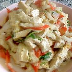 素雞燉白菜