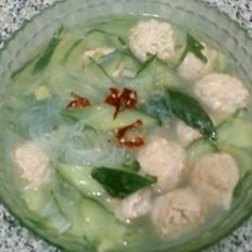 瓜片丸子湯