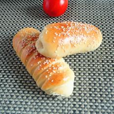 肉松热狗肠面包