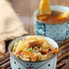 陈醋鸡爪怎么做花肉萝卜饭的做法