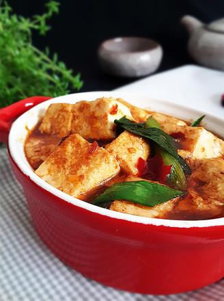 蒜苗烧豆腐的做法