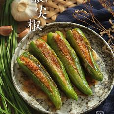 下饭的家常菜~酿尖椒