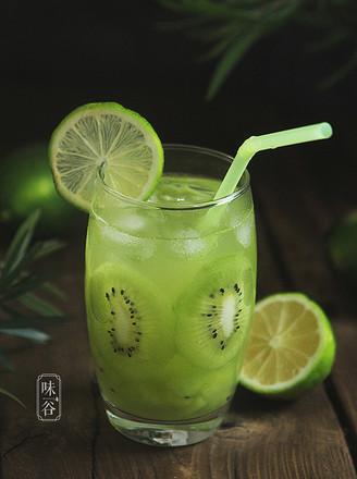 补充维C的猕猴桃柠檬汁的做法