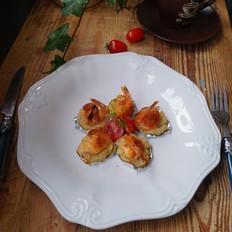 土豆餅焗芝士大蝦