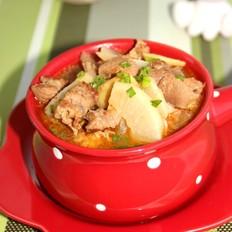 蘿卜燉牛肉
