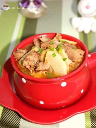 蘿卜燉牛肉的做法