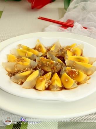 姜汁松花蛋的做法