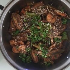干鍋雞翅蝦