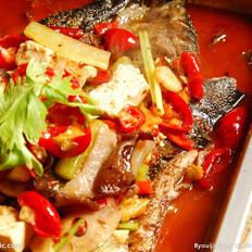 干豌豆怎么吃好吃烤制清江鱼馋小江的做法