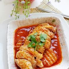 红油香辣鸡的做法