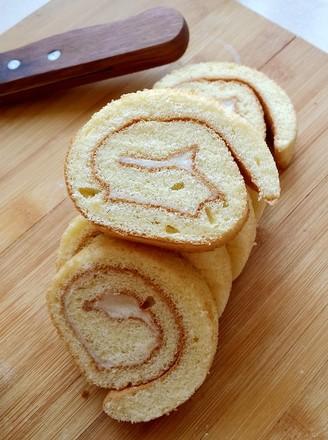 榴莲瑞士蛋糕卷的做法