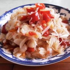 凉拌土豆丝怎么做的脆凉拌水晶荞头的做法