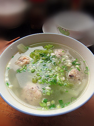 豆腐丸子湯的做法