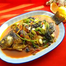 紫蘇燒鯽魚