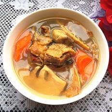 臘鴨煲筍干湯
