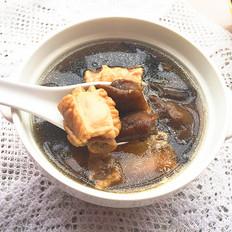 野生榛蘑煲排骨湯