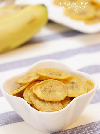 煎香蕉片的做法
