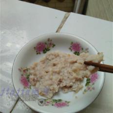 清蒸鱼泥饼