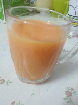 木瓜牛奶汁的做法