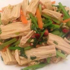 開胃菜--涼拌腐竹