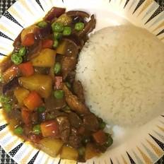 咖喱豬肉飯