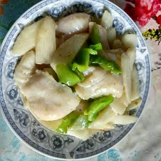 腌的咸猪肉怎么做好吃山药鱼片的做法