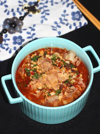 蒜香豆芽肥牛锅的做法