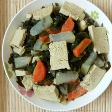 海帶冬瓜凍豆腐燉菜
