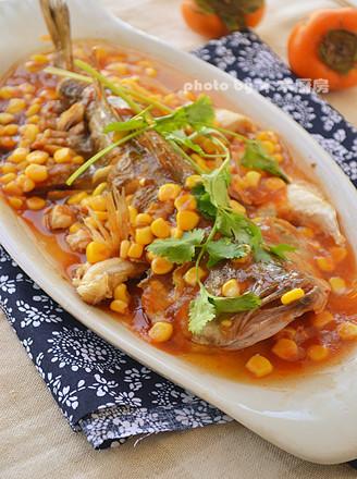 微波茄汁鱼的做法