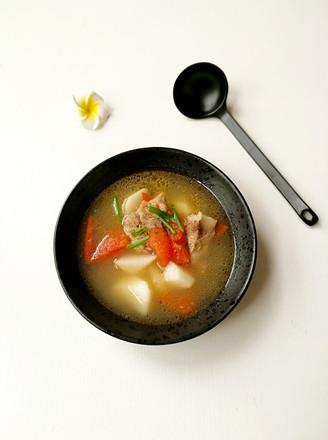 蕃茄小排山药汤的做法