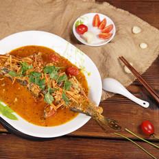 意大利蒜香罗勒炖鱼