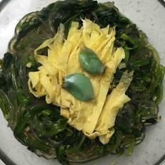 蒜香菠菜拌粉丝