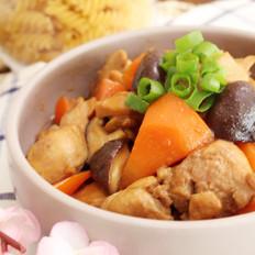 香菇燉雞腿  營養師小菜媽媽