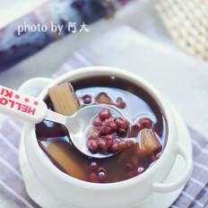 甘蔗紅豆湯