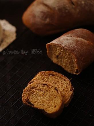 红糖桂圆全麦面包的做法