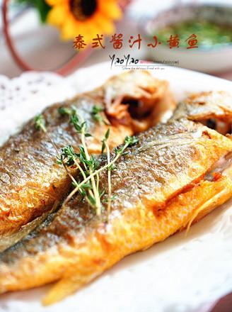 泰式酱汁小黄鱼的做法