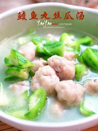 鲮鱼丸丝瓜汤的做法