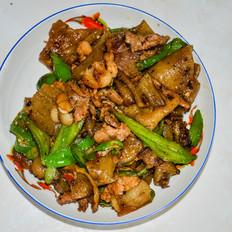 家常菜——粉皮炒肉