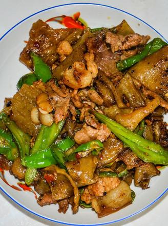 家常菜——粉皮炒肉的做法