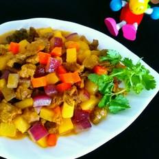 咖喱肉炖土豆