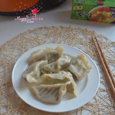 绿色西瓜果冻怎么做黄瓜牛肉水饺的做法
