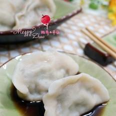 鲜虾怎么炒好吃小白菜猪肉水饺的做法