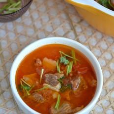 鸿运当头之番茄牛腩汤