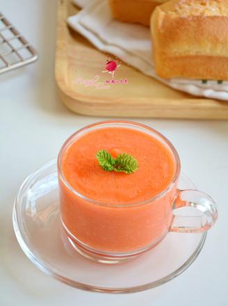 红柚胡萝卜汁的做法