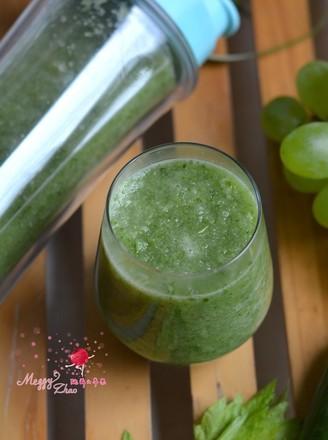 芹菜黄瓜葡萄汁的做法