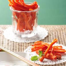 健康胡萝卜棒