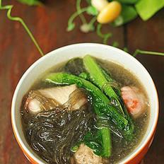 红薯粉丝鱼丸汤