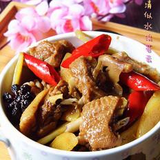 米酒汤怎么做姜爆鸭子的做法